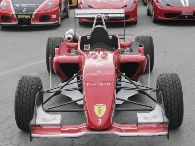 Drive a Formula 3 in Motorland circuit 2 laps