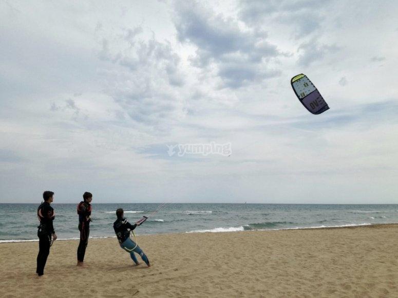 风筝冲浪课程