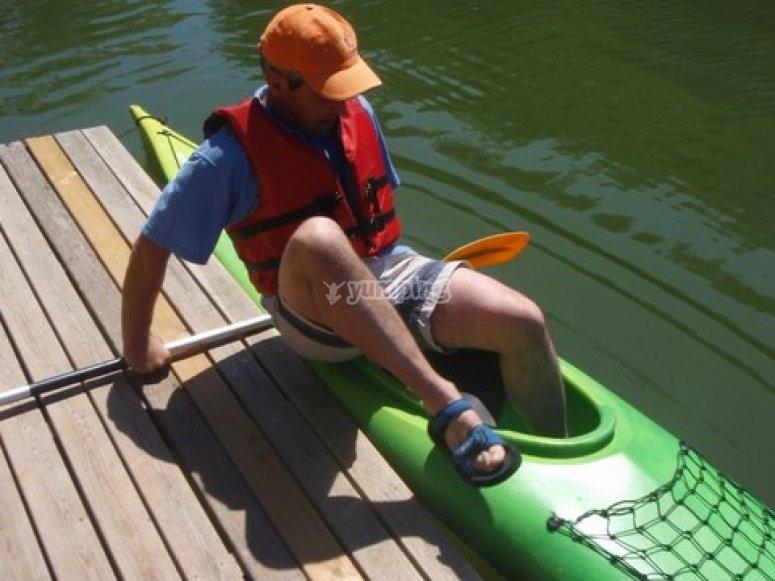 登山皮划艇
