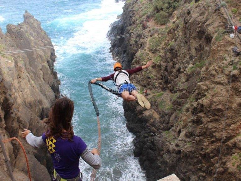 Un gran salto de rope jump
