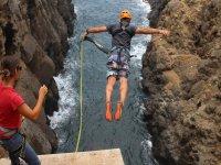 Salto del angel rope jump