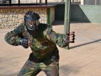 Combat position