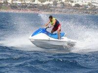 Sesion en moto de agua