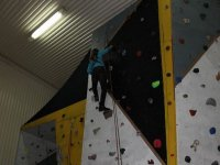 Learning in the climbing wall