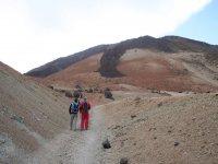 Walking towards Teide