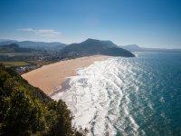 Playa Berria desde  M Buciero