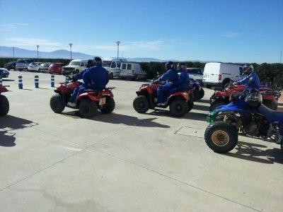 Team building con quads en Fresno de la Fuente 1 h