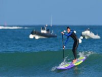 Paddle Surfing in San Pedro del Pinatar