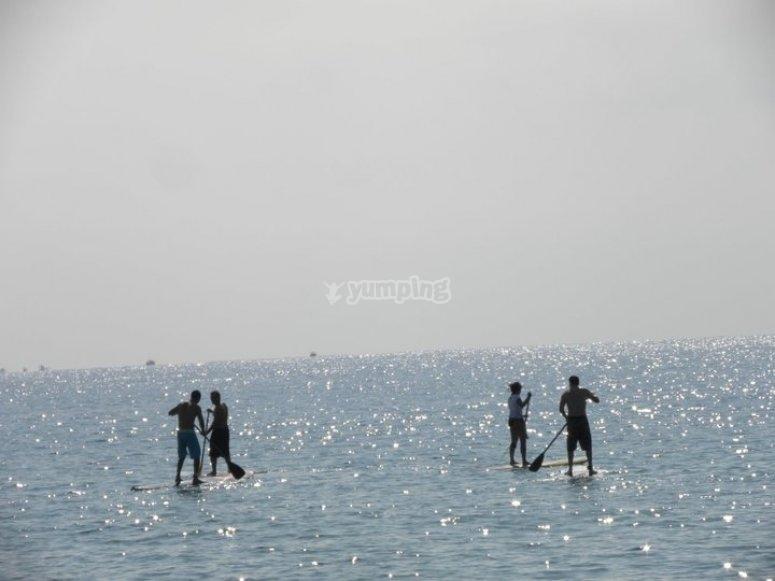 paddle sur mar adentro