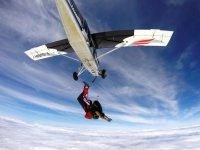 Salto tándem desde avioneta