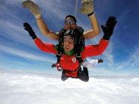 Salto a 4.000 metros de altura