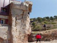 Asegurando a los escaladores