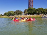 Canoeing in Seville