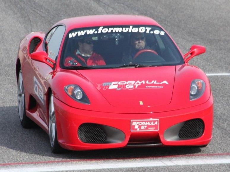 Driving a Ferrari in Monteblanco
