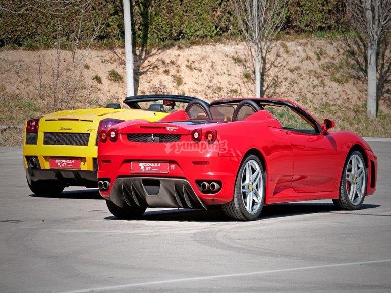 Take 6 laps with a Ferrari