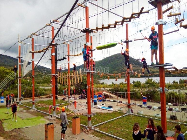 Parque de cuerdas de lozoya