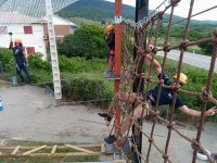 Parque aventuras de cuerdas en Lozoya 20 desafíos