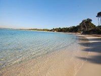 La playa sin turistas