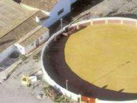 Vista aérea de la plaza de toros