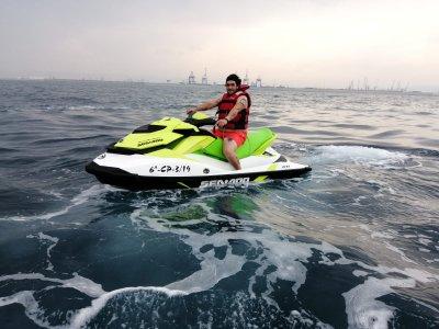 Bono 6 días en moto de agua biplaza Costa Azahar