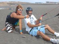 Clases de kitesurf en tierra, Gran Canaria