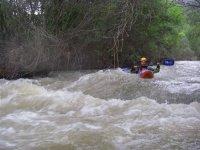 Piragüismo en aguas bravas