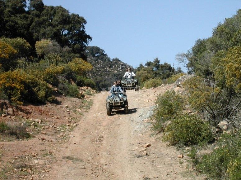 ruta quad doble tierra
