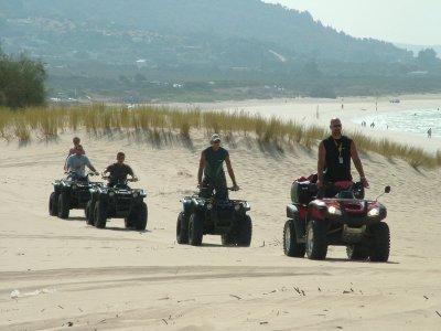 Ruta en quad biplaza en Punta Paloma, 2 horas