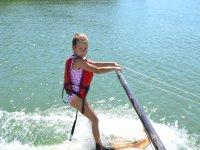 Barra lateral para aprender esqui nautico