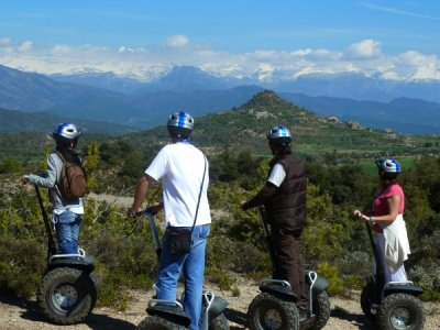 Segway ride in Sobrarbe 90 minutes