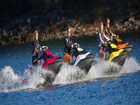 Percorso di moto d'acqua lungo la Costa Dorada