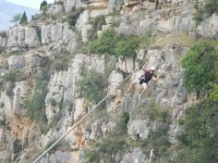 Castellón酒店拥有200米长的高空滑索