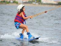 disfrutando con el wake