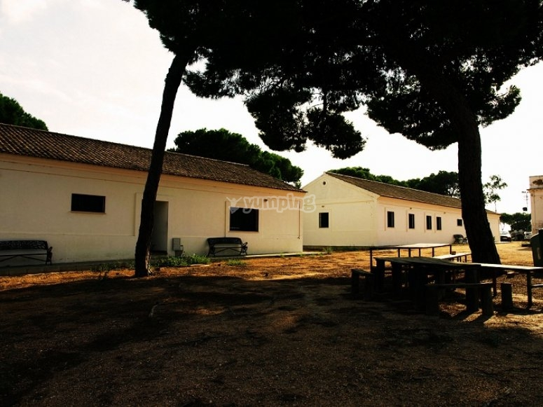 Facilities for the camp