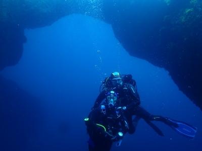 潜水日在Columbretes群岛