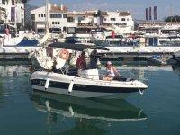 Nuestro charter partiendo del puerto