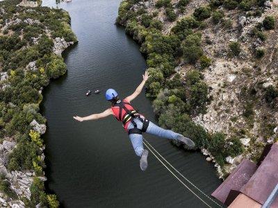 Puenting en Los Ángeles de San Rafael 1 salto