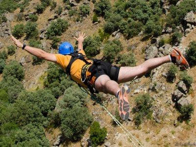 Bungee jumping a Los Angeles de San Rafael, 2 salti