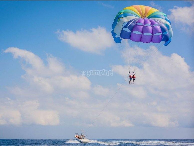 略雷特滑翔伞飞