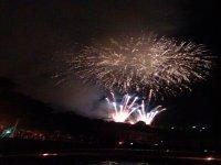 Fuegos Artificiales en Barco Bilbao La Mar de Bien