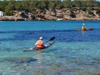 Prueba de navegacion en kayak