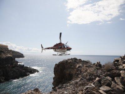 Vuelo en helicóptero Isla Baja, 35 minutos