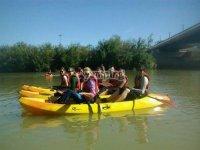 Canoe trip, San Rafael dam, 1h
