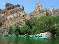 Kayaking + roasted lamb, San Miguel de Bernuy