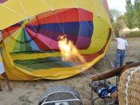 Vuela en globo en Palencia
