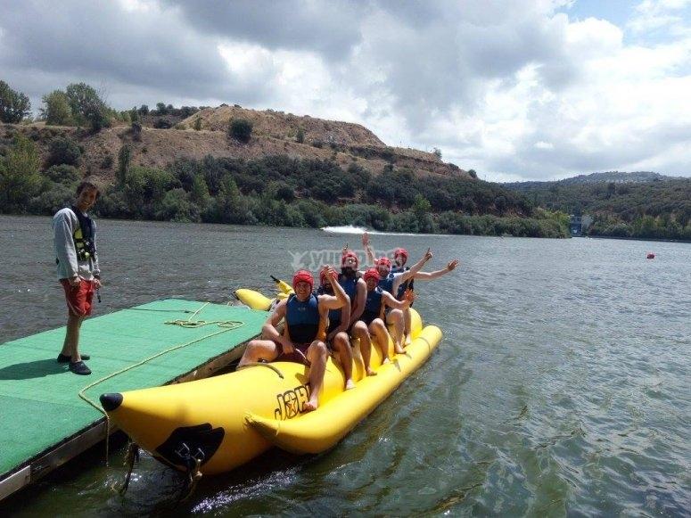 香蕉船训练会