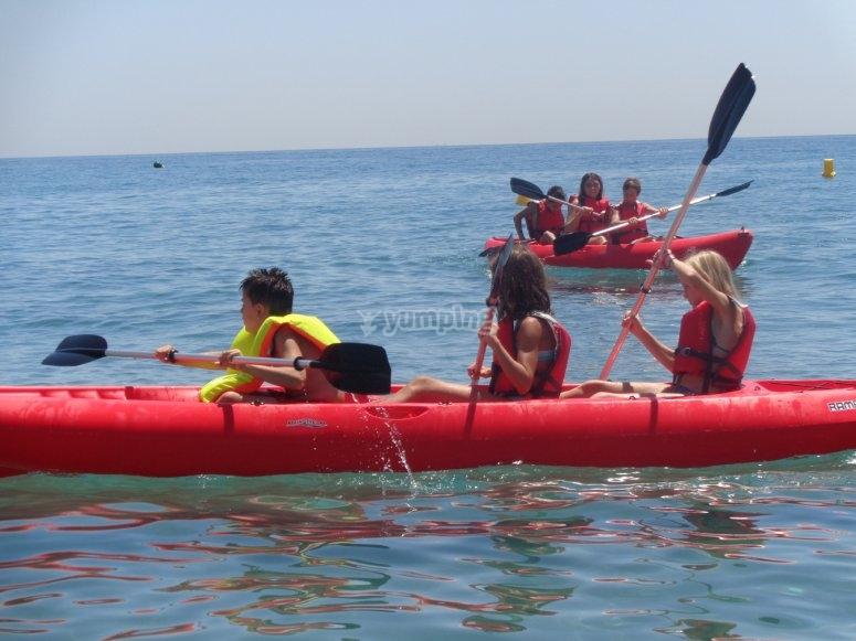 Haciendo Kayaks