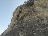 Vertical section in La Mocha