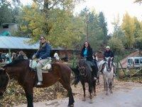 Inizio dell'equitazione