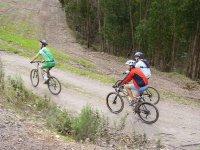 巴塞罗那山地自行车路线组